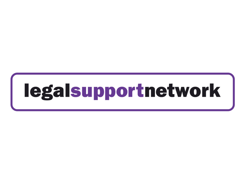 Legal Support Network logo